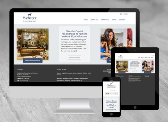 Fleming and Company - Responsive Website Design - Graphic